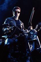 Arnold Schwarzenegger Terminator 2: Judgment Day Motorbike Shotgun 18x24 Poster - $23.99