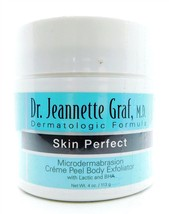 Dr. Jeannette Graf Microdermabrasion Creme Peel Body Exfoliator 4 Oz. - $6.64