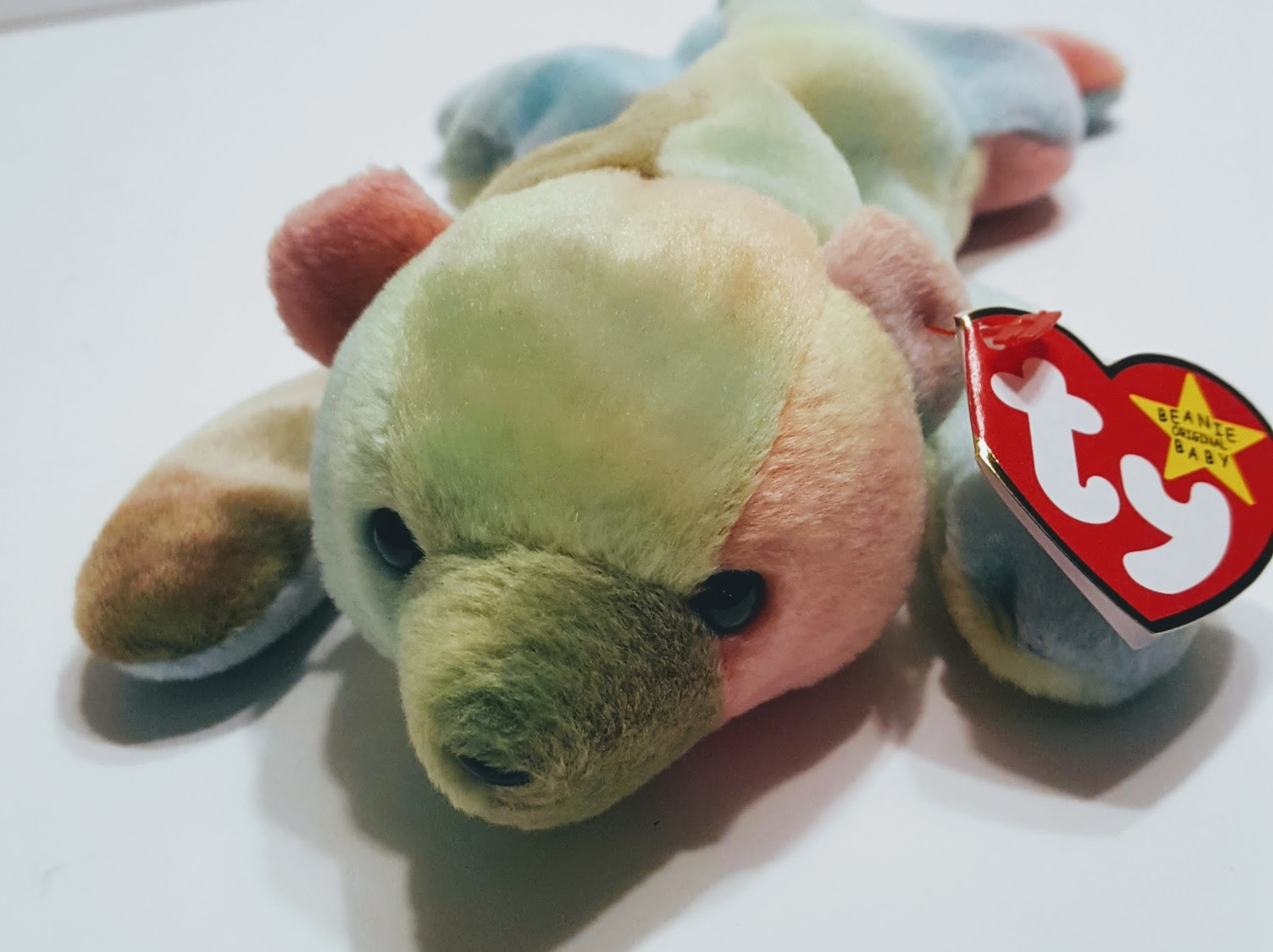 Ty Beanie Baby Sammy the Bear with tag June 23, 1998