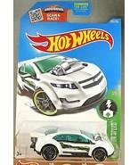 2016 Hot Wheels #243 HW Green Speed 3/5 SUPER VOLT White Variation w/Bla... - $7.75