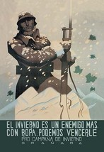 The Winter Is an Enemy, But with Clothes We Can Defeat Him by Juan Dapena Parril - $19.99+