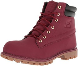 Fila Men's WATERSEDGE 17 Hiking Boot, Biking red/Black/Gum, 8.5 Medium US - $43.35