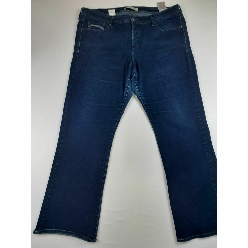 Primary image for LEVIS 512 STRETCHY PERFECTLY SHAPING BOOTCUT JEANS SZ 20W