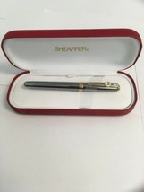 Sheaffer White Dot Rollerball Pen & Cap Silver Gold Trim MOTOROLA LOGO  ... - $44.50