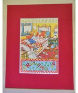 """Mary Engelbreit Print Matted 8 x 10 """"Growing Up"""" - $16.40"""