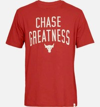 Mens Under Armour UA Project Rock Chase Greatness Fitness T-Shirt S M L ... - $26.23+