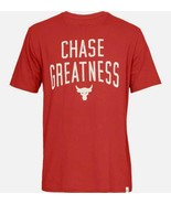 Mens Under Armour UA Project Rock Chase Greatness Fitness T-Shirt S M L ... - $24.98+