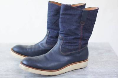 TENKUMARU pecos boots denim US 7.5 Made in Japan