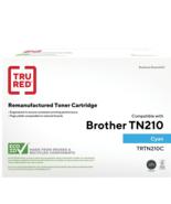Staples Remanufactured Color Laser Toner Cartridge Brother TN210C Cyan - $28.40