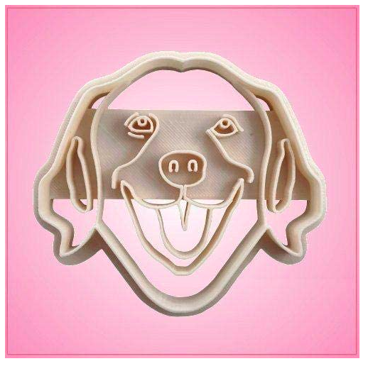 Primary image for Embossed Golden Retriever Cookie Cutter-One Piece Only
