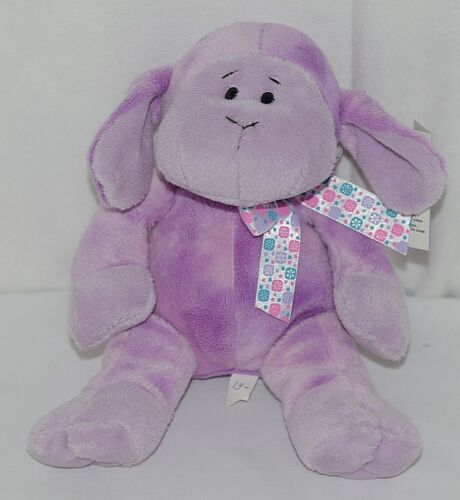 GANZ HE9835 Purple Tie Dye Lambie Snowflake Bow 11 Inches