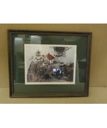 Print Lighthouse Framed Mattted 22in W x 18in H x 1in D Nautical Realism - $78.52