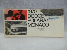 DODGE POLARA    1970 Owners Manual 16331 - $18.76