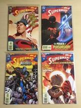 Adventures of Superman (DC, 1987) #600, 601, 602, 603 Casey, Woods, Marz... - $13.00
