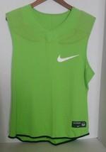 Nike Men Vapor Speed Green Football Compression Top 724350 313 Size 2XL - $24.95