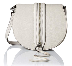 Rebecca Minkoff HS26GMAX43 Mara Saddle Shoulder Bag, Putty, One Size - $98.99