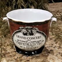 Mozart GRAND CONCERT Formalities Melody Mahogany Collection Bowl Piano T... - $39.95