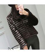 Warm Faux Fur Coat Women Fake Fur Short Winter Coat Female 2018 Autumn C... - $71.40+