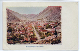 Panorama Georgetown Colorado 1907c postcard - $6.44