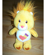 "9"" Brave Heart Lion Care Bear Cousin Bean Bag Plush Toy 2003 Stuffed Ani... - $15.00"