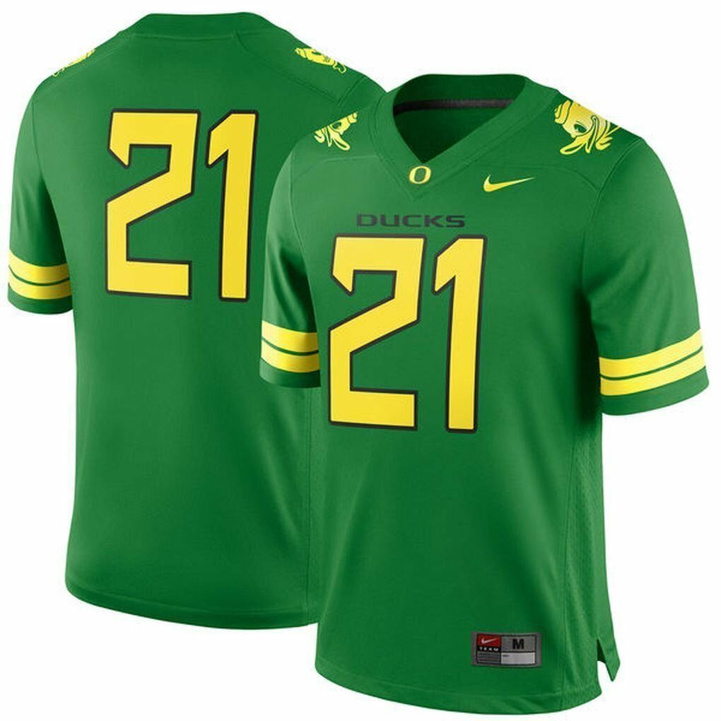 601a27a6dfd3a Nike Oregon Ducks  21 Green Football Youth and 50 similar items