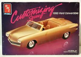 AMT ERTL Customizing Series 1950 Ford Convertible 1/25 Model Kit - $39.99