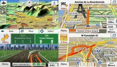 2017 Q3 North America USA Standard Map Card for Tsukayu Eonon Android GPS