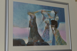 Work By Rafa Fernandez renowned Central American painters Fundacion Arias