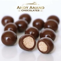 Andy Anand Belgian Dark Chocolate Tripple Dipped Malt Balls Free Air Shipping - $22.84
