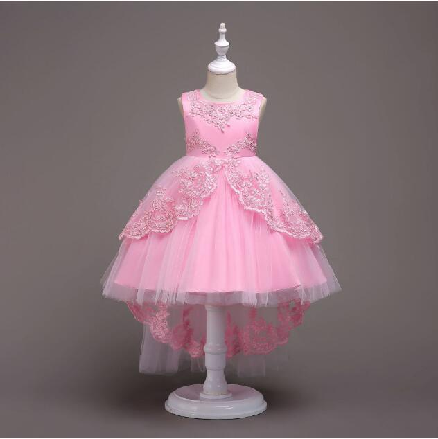 Primary image for Flower Girls Dress Wedding Bridesmaid Birthday Pageant Formal Prom Kid Gown N-P