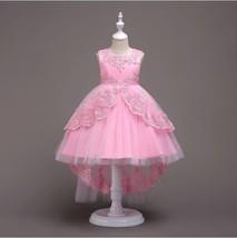 Flower Girls Dress Wedding Bridesmaid Birthday Pageant Formal Prom Kid G... - $35.50