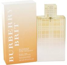 Burberry Brit Summer Edition Perfume 3.3 Oz Eau De Toilette Spray  image 4