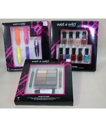 Wet N Wild Makeup Sets - Mascara, Nail Polish, Eye shadow, Eye liner - $12.95