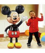 """Jumbo Birthday Foil Balloon Mickey Mouse Airwalker 52"""" Party Decoration ... - $13.09"""