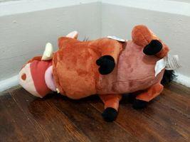 "Disney Store 12"" Pumbaa Plush New with Tag image 4"