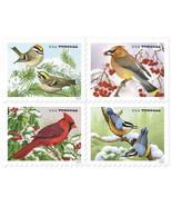 2016 47c Songbirds in Snow, Illustrator Robert Giusti Scott 5126-29 Mint... - €3,04 EUR