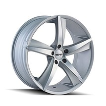 TR72 3272 GLOSS SILVER/MACHINED FACE 20X10 5-120 20mm 74.1mm - $61.83