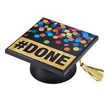 Grad Hat Top #DONE Layon Cake Topper - $4.99