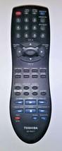 Toshiba SE-R0077 Original Remote Control + Battery Cover - $29.95