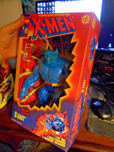 "X-men BEAST Deluxe Edition Toy Biz 10"" Poseable Weapon 1994 MARVEL 49721 TOY - $15.95"