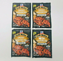 Pack of 4 Grill Mates Smoky Habanero Marinade Mix Spicy Chicken Seasonin... - $10.99