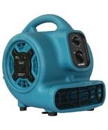 XPOWER P-230AT P-230AT 800 CFM 3-Speed Mini Air Mover/Floor Dryer/Utilit... - $126.78