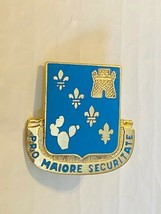 US Military 129th Infantry Regiment Insignia Pin - Pro Maiore Securitate - $10.00