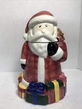 "SAKURA Magic of Santa DEBBIE MUMM Cookie Jar ~ 11.5"" tall 1996 Christmas - $24.26"