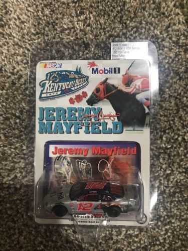1/64 ACTION Jeremy Mayfield #12 Kentucky Derby Ford Rubber Tires 1999 MOMC