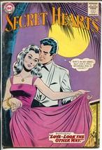 Secret Hearts #92 1963-DC-monnlight night cover-romance-VG+ - $49.66