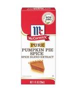 McCormick Pure Pumpkin Pie Spice Blend Extract, 1 fl oz - $12.82