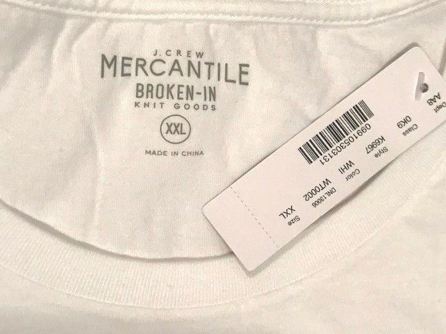 NWT J.Crew Mercantile Motorcycle Santa Graphic T-Shirt - Size XX-Large  $49