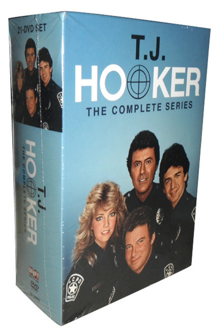 T.J. Hooker The Complete Series Seaons 1-5 DVD Box Set 21 Disc Free Shipping