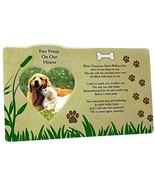 BANBERRY DESIGNS Pet Memorial Picture Frame - When Tomorrow Starts Without Me - $26.70